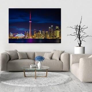 Noir Gallery Toronto Skyline at Night Fine Art Photo Print