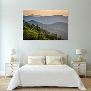 Noir Gallery Blue Ridge Mountain View in Shenandoah National Park Fine Art Photo Print