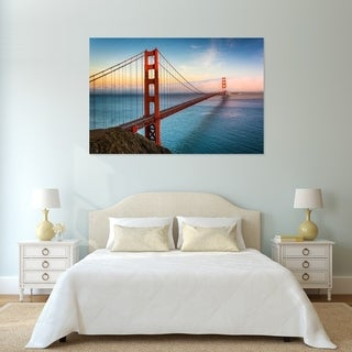 Noir Gallery Golden Gate Bridge Sunset in San Francisco Fine Art Photo Print