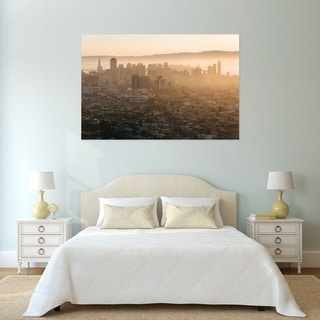Noir Gallery Foggy View of San Francisco Fine Art Photo Print