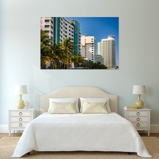 Noir Gallery Collins Avenue in Miami Beach, Florida Fine Art Photo Print