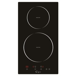 "Empava 12"" 2 Burners Tempered Glass Electric Induction Cooktop EMPV-IDC12"