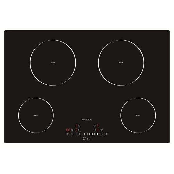 Empava 30 4 Booster Burners Tempered Gl Electric Induction Cooktop