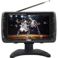"""Naxa NT-70 7"""" LCD TV - 16:9 - Shiny Black"""