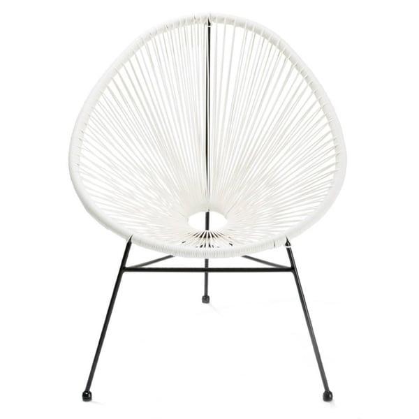 Charmant Acapulco Papasan Chair White