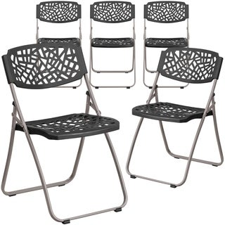 Plastic Rattan Folding Chair