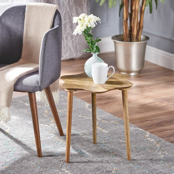 Adelaide Mango Wood End Table by Christopher Knight Home