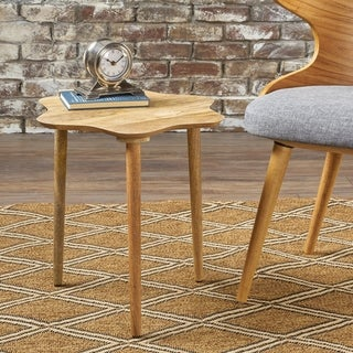 Adelaide Solid Mango Wood End Table by Christopher Knight Home
