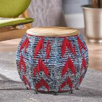 Ryker Mango Wood Round End Table by Christopher Knight Home