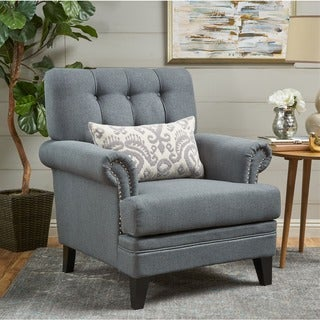 Link to Anthea Fabric Club Chair by Christopher Knight Home Similar Items in Bedroom Furniture