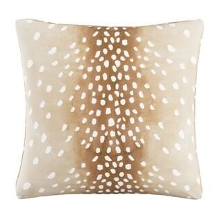 Skyline Pillow in Garden Bird Orange 20x20