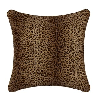 Skyline Pillow in Cheetah Earth 20x20