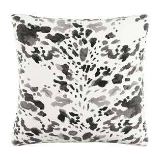 Skyline Pillow in Cow 20x20