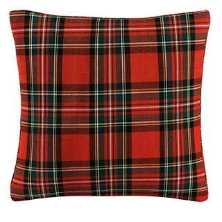 Skyline Pillow in Plaid 20x20