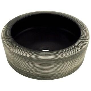 V407 Hand-Thrown Ceramic Vessel Sink