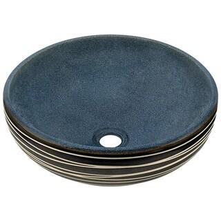 V402 Hand-Thrown Ceramic Vessel Sink