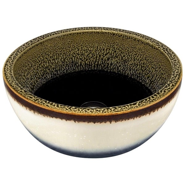 V406 Hand-Thrown Ceramic Vessel Sink
