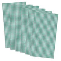 Check Printed Napkin ( Set of 6)
