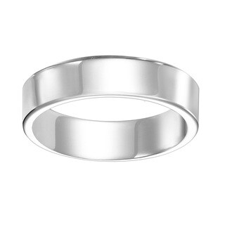 Cambridge 4mm Comfort Fit White Tungsten Band
