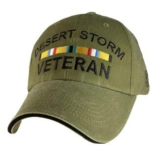 Desert Storm Veteran Green Hat