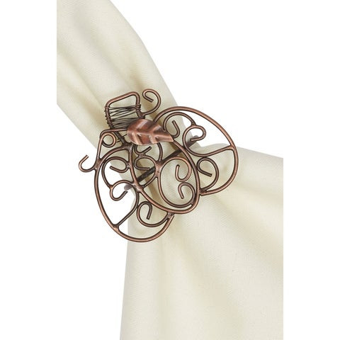 Pumpkin Scroll Napkin Ring