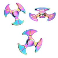 Fidget Hand Spinner Rainbow 3 Wings (Anodized Metal)