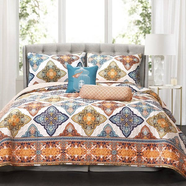Lush Decor Persis 5 Piece Quilt Set