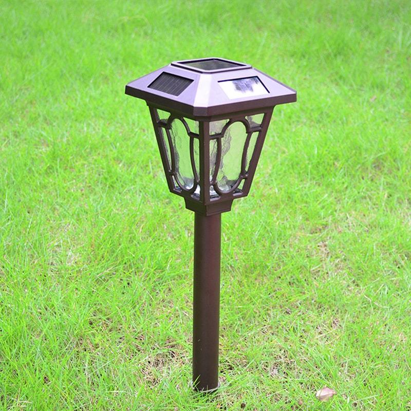 Coutlet Solar Lawn Light Spike Spotlight Landscape Waterp...