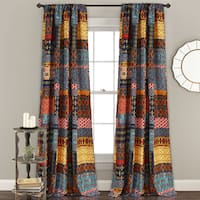 The Curated Nomad Corozon Room Darkening Curtain Panel Pair
