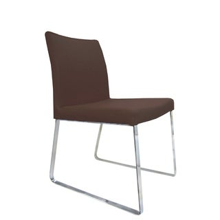 Bellini Modern Living Chris Brown Armless Chairs (Set of 2)