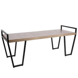 Julien Industrial Entryway / Dining Bench by LumiSource
