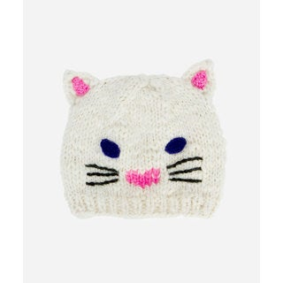 San Diego Hat Company Kids Cat Ear Knit Beanie-Cat
