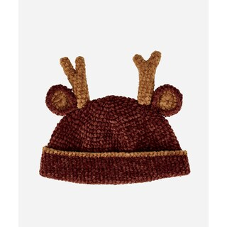 San Diego Hat Company Infant 0-6 Months Crochet Deer-Deer