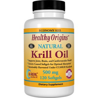 Healthy Origins Krill Oil 500 mg (120 Softgels)