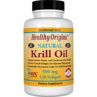 Healthy Origins Krill Oil 500 mg (120 Softgels)