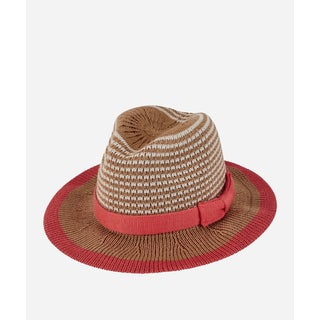 San Diego Hat Company 5-7 Youth Knitted Fedora-Camel