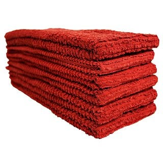 J & M Home Fashions Chef Kitchen Towel - 6 Pk.