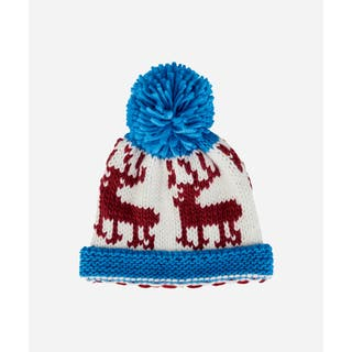 San Diego Hat Company 5-7 Youth Deer Beanie W/ Pom & Cuff-Blue|https://ak1.ostkcdn.com/images/products/16986055/P23269619.jpg?impolicy=medium