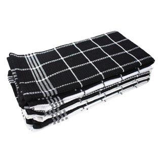 J & M Home Fashions Waffle Weave Kitchen Towel Set - 6 Pk.