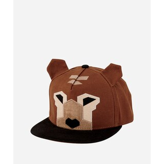 San Diego Hat Company 3-7 Youth Geometric Animal Cap-Bear