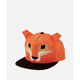 San Diego Hat Company 3-7 Youth Geometric Animal Cap-Fox