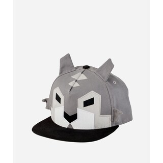 San Diego Hat Company 3-7 Youth Geometric Animal Cap-Wolf