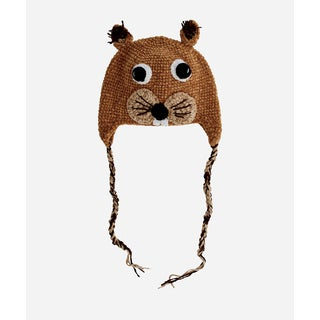 San Diego Hat Company 1-2 Toddler Crochet Squirrel-Squirrel