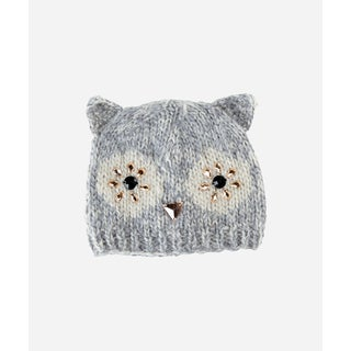 San Diego Hat Company 4-6 Kid Owl Beanie With Faux Gems-Owl-Large