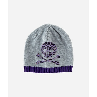 San Diego Hat Company 2-4 Toddler Skull Beanie-Purple-Small