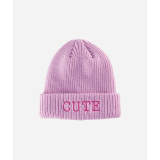 San Diego Hat Company 4-6 Kid Cute Slouchy Beanie With Cuff-Pink-Large