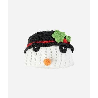San Diego Hat Company Infant 0-6 Months Crotchet Snowman-Snowman-Small/Medium