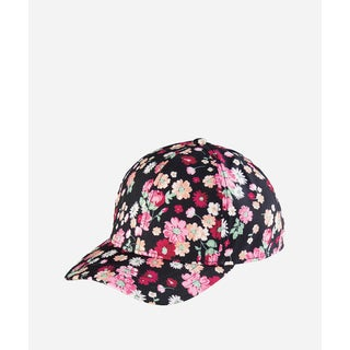 San Diego Hat Company Kids 3-7 Years Floral Ball Cap With Adjustable Back-Floral-Medium/Large