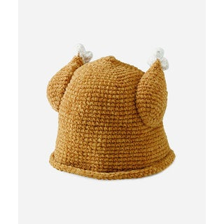 San Diego Hat Company Kids Crochet Turkey Hat-Turkey