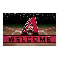 """MLB - Arizona Diamondbacks 18""""x30"""" Rubber Door Mat - Multi"""